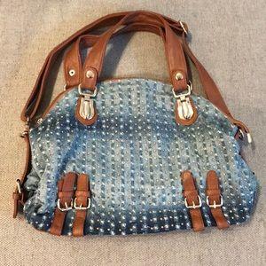 Handbags - Cute Jean Rhinestone Purse
